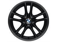 BMW Double Spoke Style 182 in Black/Front - 36116786887