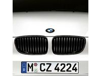 BMW M3 Performance Black Kidney Grille/Left - 51712155451