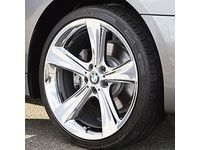BMW 750i Performance Tires