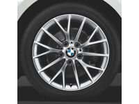 BMW Winter Complete Wheel Set Style 380  In Silver - 36112464901