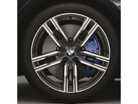 BMW M850i xDrive Winter Complete Wheel Set, Style 727M Orbit Grey - Front - 36112462560