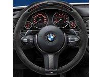 BMW M240i xDrive M Performance Electronic Steering Wheel - For Sport Line with paddles - 32302230186