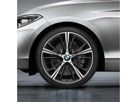BMW 230i xDrive Style 660 Orbit Grey Complete Summer Wheel & Tire Set - 36112287880