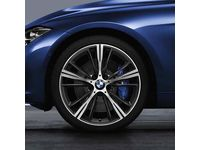 BMW 435i Gran Coupe Style 660 Orbit Grey Complete Summer Wheel & Tire Set - 36112287900