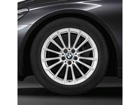 BMW 750i xDrive Cold Weather Style 619 Wheel and Tire Assembly - 36112408998