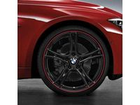 BMW 435i Gran Coupe Double Spoke 361 Complete Wheel Set / 03/14 and on - 36112287892