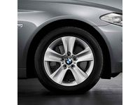 "BMW 535i GT xDrive 17"" Style 327 Winter Complete Wheel and Tire Set - 36112208368"