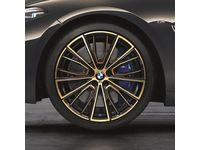 BMW M850i xDrive 20 Inch Style 732M Night Gold M Performance Complete Wheel Set - 36112459551