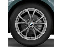 BMW Winter Complete Wheel Set Style 776 in Ferric Grey - 36112462643