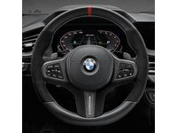 BMW M850i xDrive Gran Coupe M Performance Steering Wheel Cover - Carbon Fiber / Leather / Vehicles WITHOUT Steering Wheel Heating - 32302459670