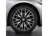 BMW 435i Gran Coupe Cross Spoke 404 Wheel and Tire Set / Up to 03/14 - 36112219671