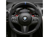 BMW M850i xDrive Gran Coupe M Performance Steering Wheel Cover - Carbon Fiber / Alcantara - 32302459669
