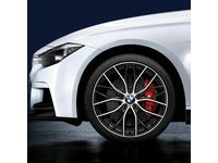 "BMW 330e M Performance Double-Spoke 405M, 20"" Forged Wheels with Tires - Complete Set / 03/14 and on - 36112459627"