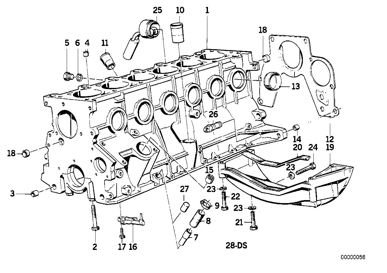 bmw e28 engine diagram 11112242280 genuine bmw connector  11112242280 genuine bmw connector