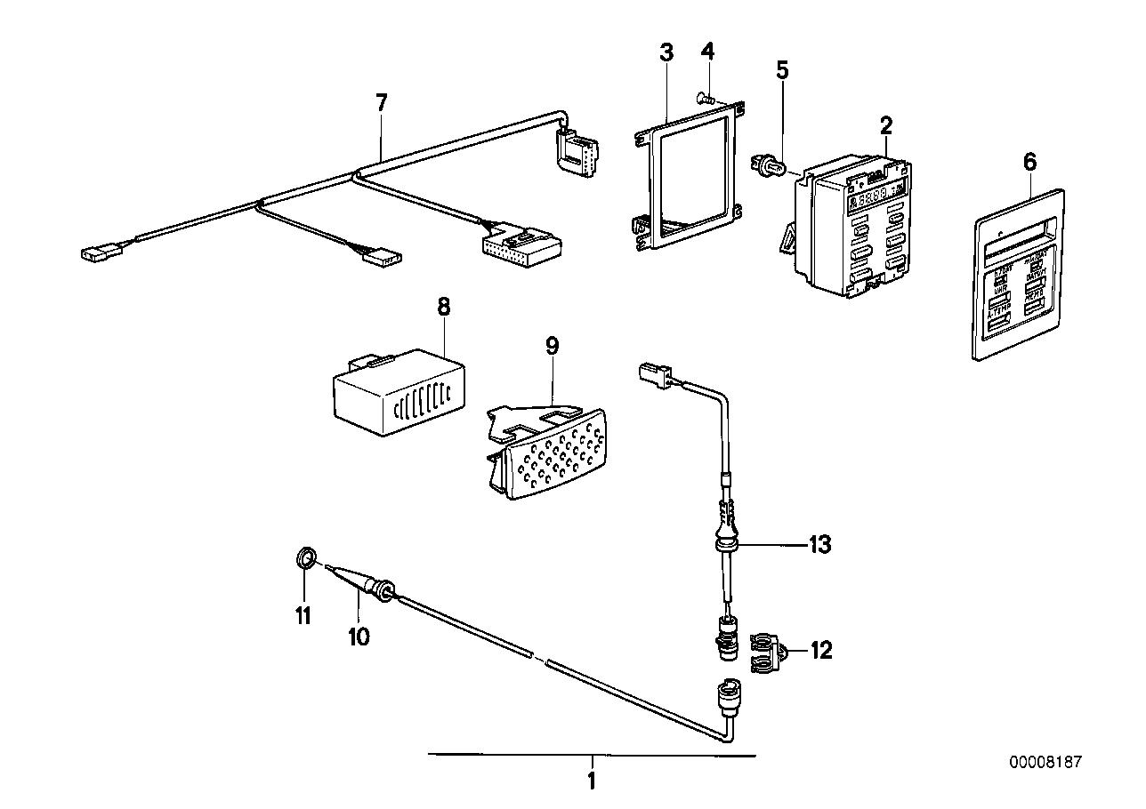 bmw 325es 1986 wiring diagram 65811377810 genuine bmw gong  65811377810 genuine bmw gong
