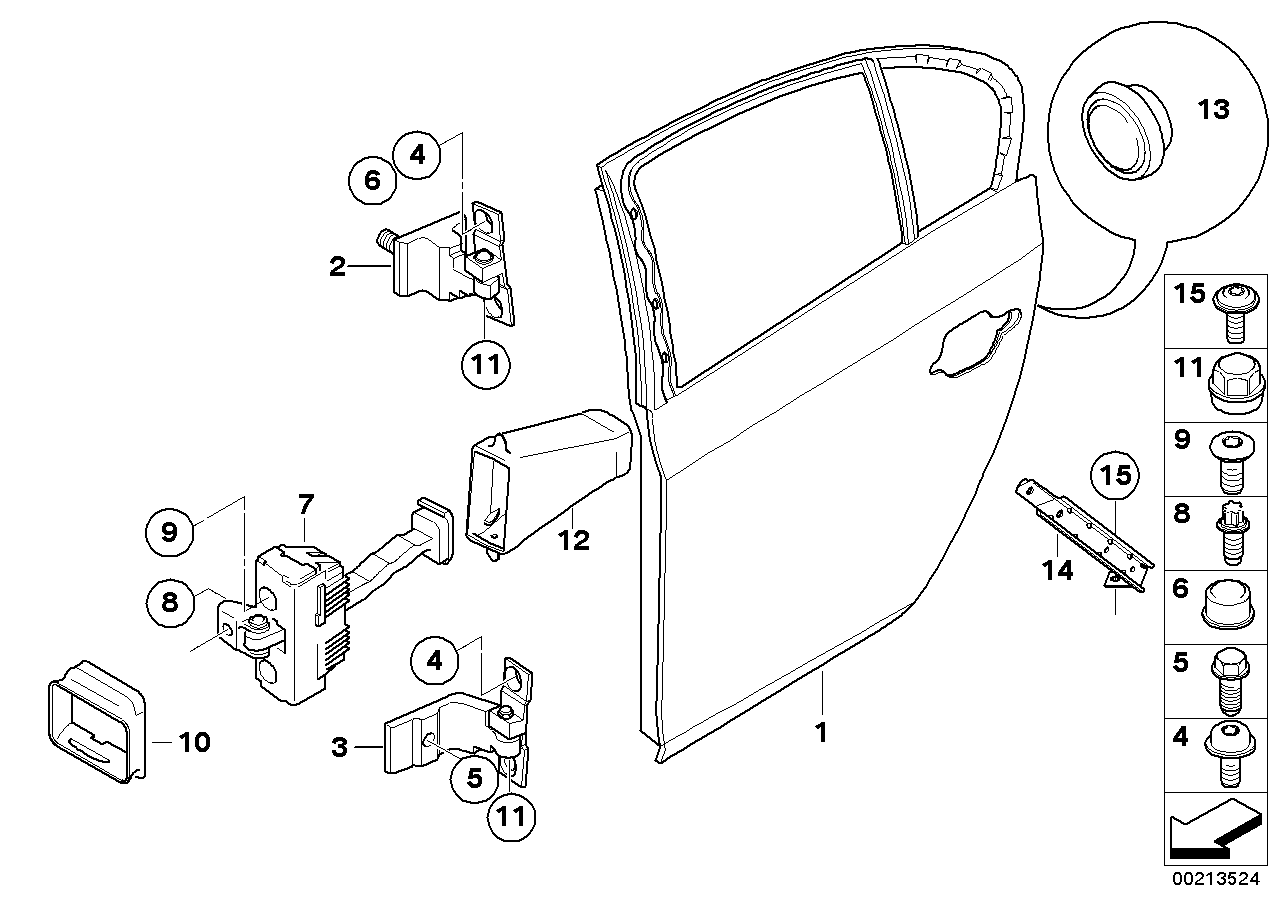 2007 bmw 525i brake diagram 51717151863 genuine bmw door reinforcement  rear left  genuine bmw door reinforcement