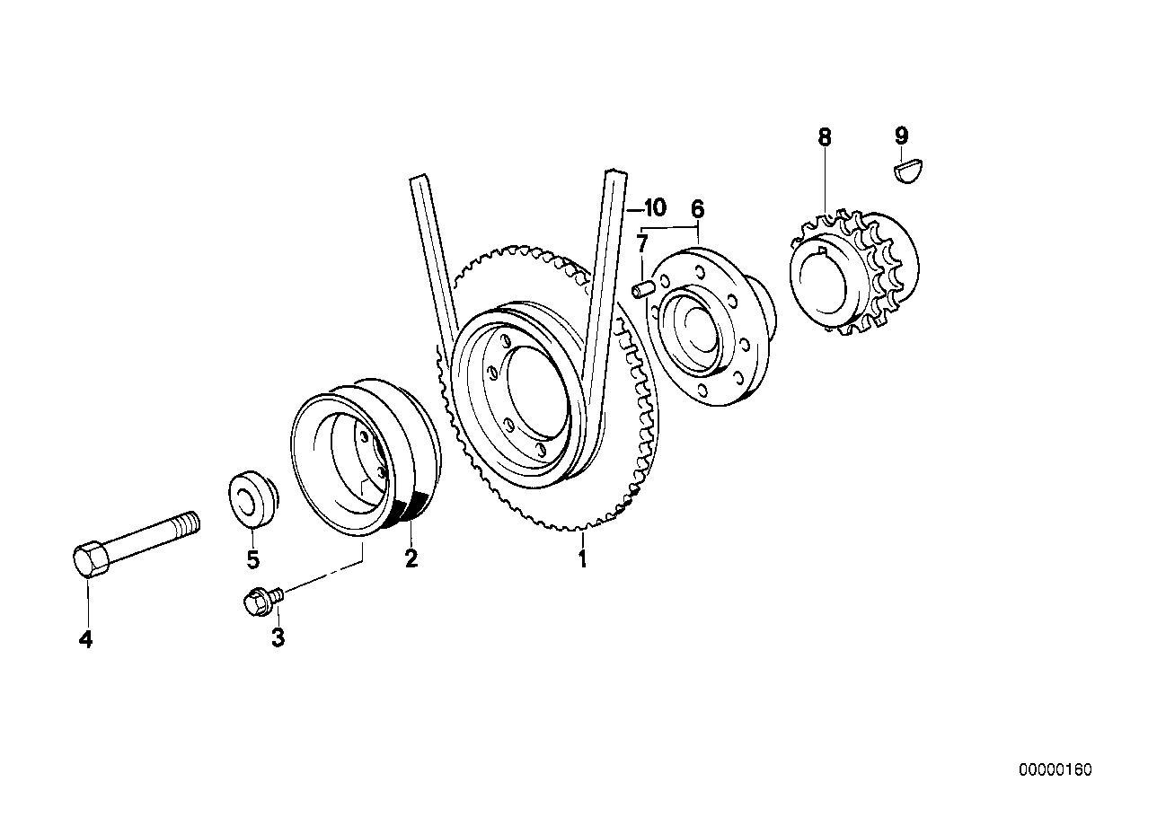 318i belt diagram 11211721099 genuine bmw hub  11211721099 genuine bmw hub