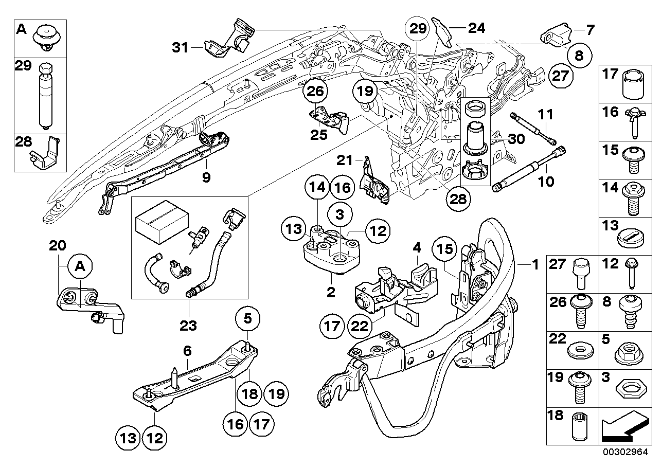 54377197983 - genuine bmw screw 2008 bmw 335i convertible engine diagram bmw n54 engine diagram bmw parts