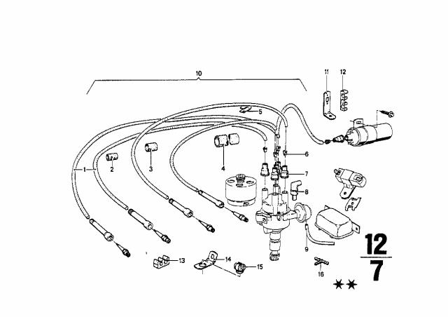 1973 Bmw 2002 Ignition Wiring Bmw Parts Deal