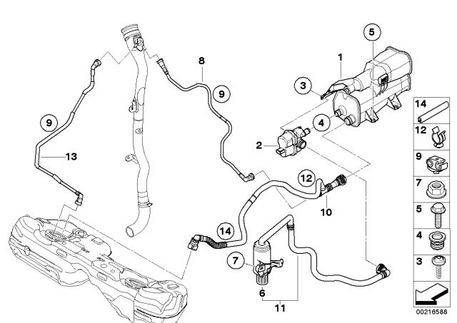 16127200597 - Genuine BMW ClipBMW Parts