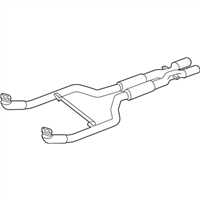 BMW M6 Exhaust Pipe - 18307848827