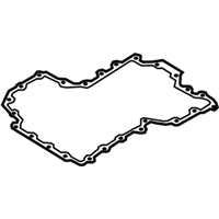 BMW 650i Gran Coupe Oil Pan Gasket - 11137570705