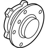 BMW M2 Wheel Bearing - 31207857506