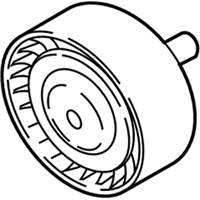 BMW 640i xDrive A/C Idler Pulley - 11288673720