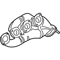BMW X5 Exhaust Manifold - 11627500483