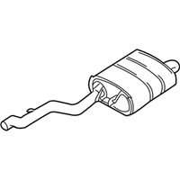 BMW Exhaust Pipe - 18101440361