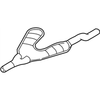 BMW Exhaust Pipe - 18101436532