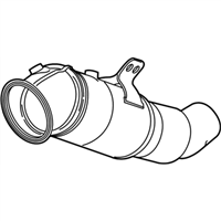 BMW 540i Catalytic Converter - 18328652180