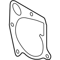 BMW X5 Water Pump Gasket - 11517793796