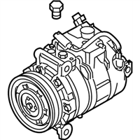 BMW 335is A/C Compressor - 64526956719