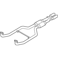 BMW M6 Exhaust Pipe - 18307848140