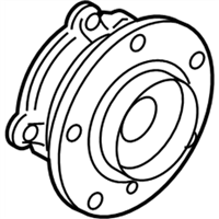 BMW 430i Gran Coupe Wheel Bearing - 31206876840