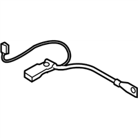 BMW Z4 Battery Cable - 61129255046