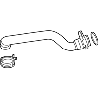 BMW Radiator Hose - 11537580969