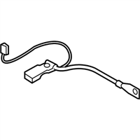 BMW Z4 Battery Cable - 61127616199