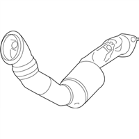BMW 335i xDrive Catalytic Converter - 18307553594