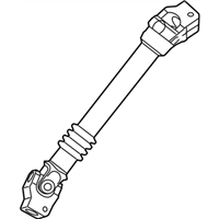 BMW 135i Steering Shaft - 32306769157