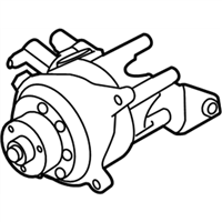 BMW 640i Gran Coupe Power Steering Pump - 32416850590