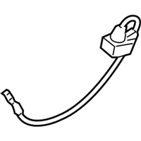 BMW 650i xDrive Gran Coupe Battery Cable - 61219302358