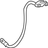 BMW 328i Battery Cable - 12421732227