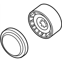 BMW Alpina B7 A/C Idler Pulley - 11287549557