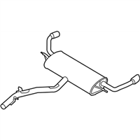 BMW X5 Exhaust Pipe - 18308572488