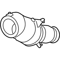 BMW 340i Catalytic Converter - 18327643152