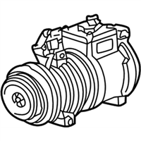 BMW 318is A/C Compressor - 64528390228