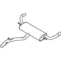 BMW X5 Exhaust Pipe - 18307584358